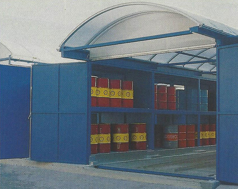 Hazardous Materials Storage PVI Products