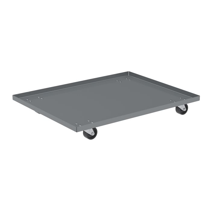 Solid Steel Dolly Lips Up 3 Inch Poly Caster Available Through Pvi Products